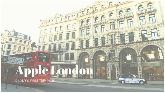 【イギリス旅行記】APPLE LONDON店へ行くの巻