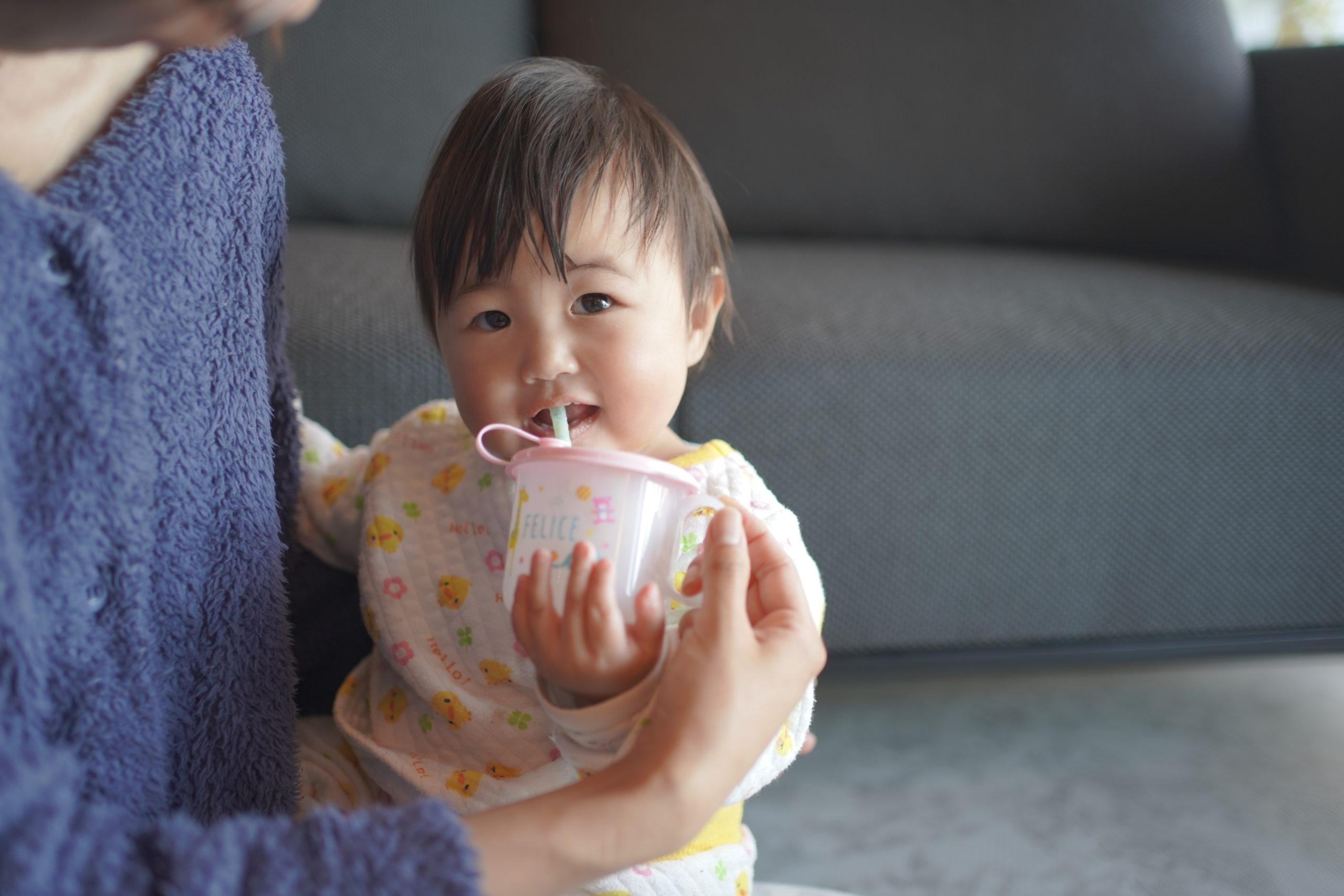 スムージーが大好きな生後11ヶ月の赤ちゃん♡♡