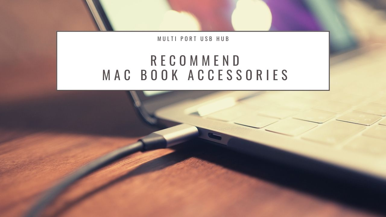 【オススメ】Macbook proアクセサリー【USB ハブ】