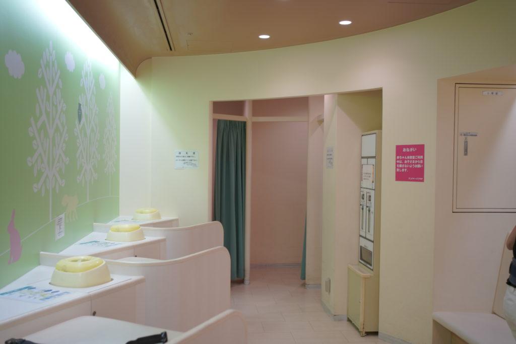 ランドマークタワー 授乳室