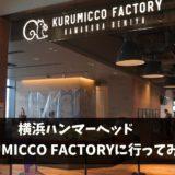 KURUMICCO FACTORYに行ってみた【ハンマーヘッド】